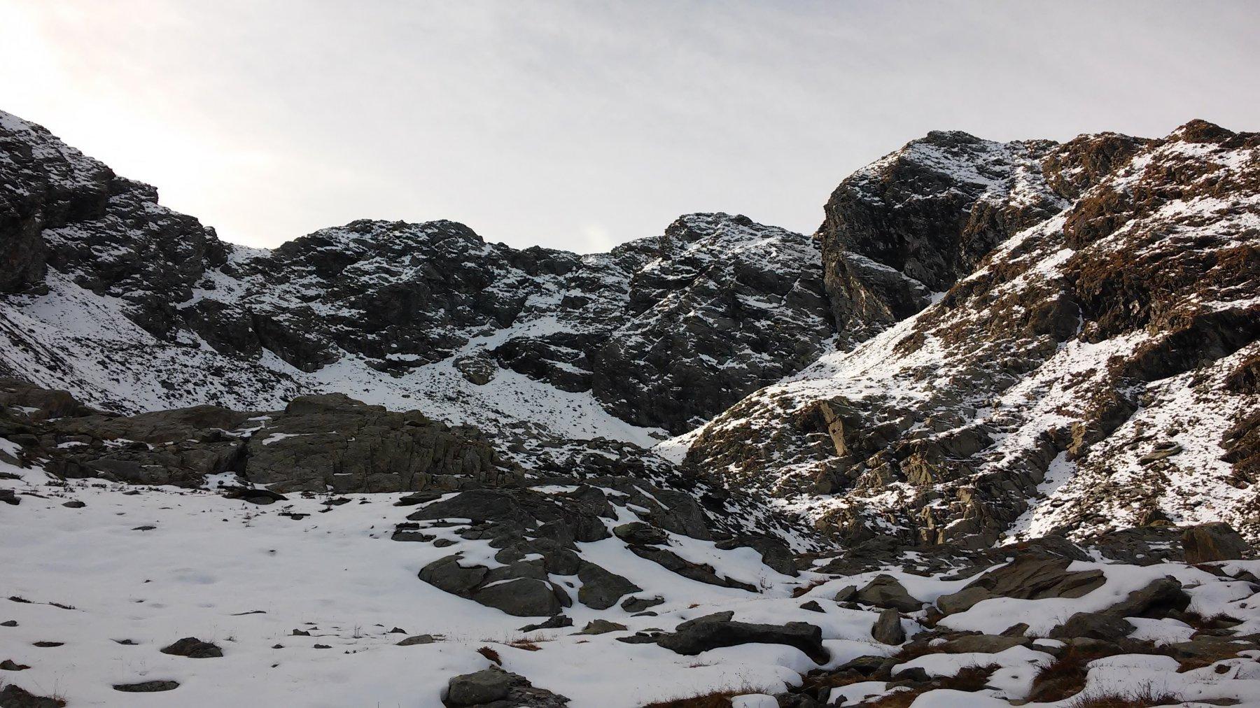 Punta Cruvin mt.2690 versante nord