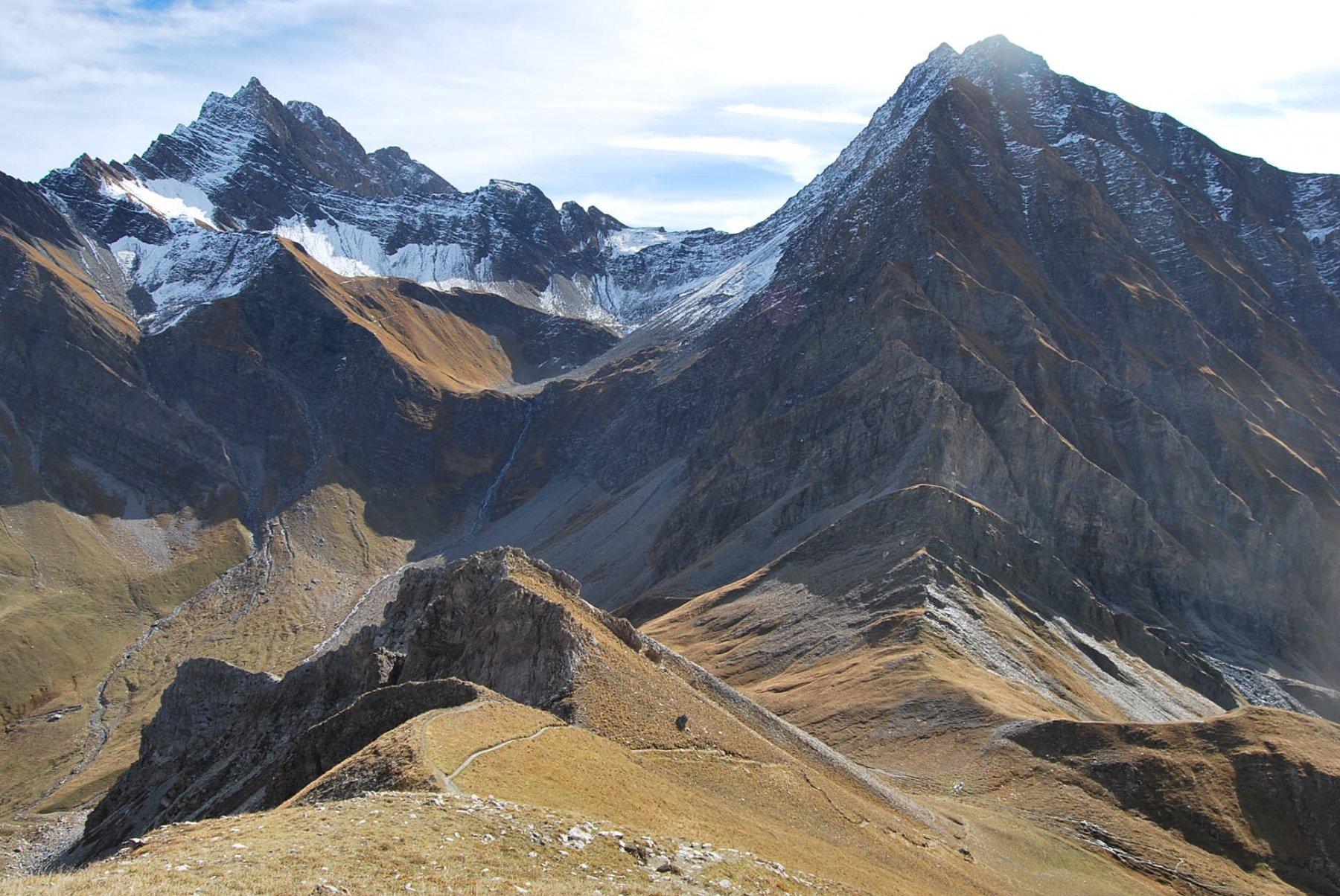 Tronche (Tète de la) da Lavachey, anello per Passo Entre Deux Saut e Col Sapin 2015-10-11