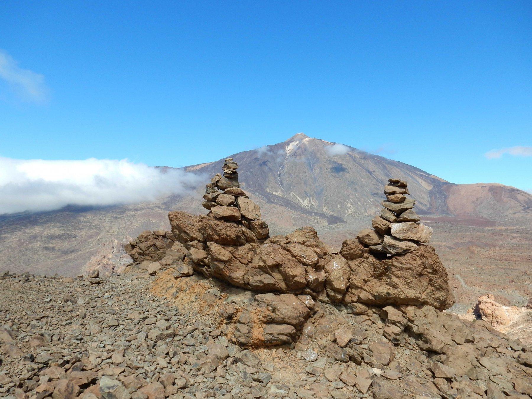 Il Teide  visto dalla Degollada de Ucanca.