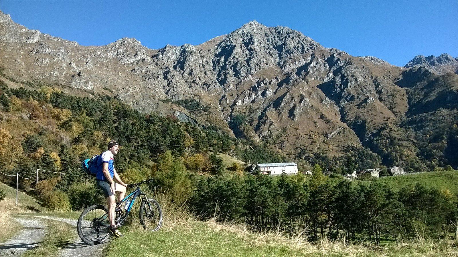 Enzo In prossimità dell'Alpe Le Combe