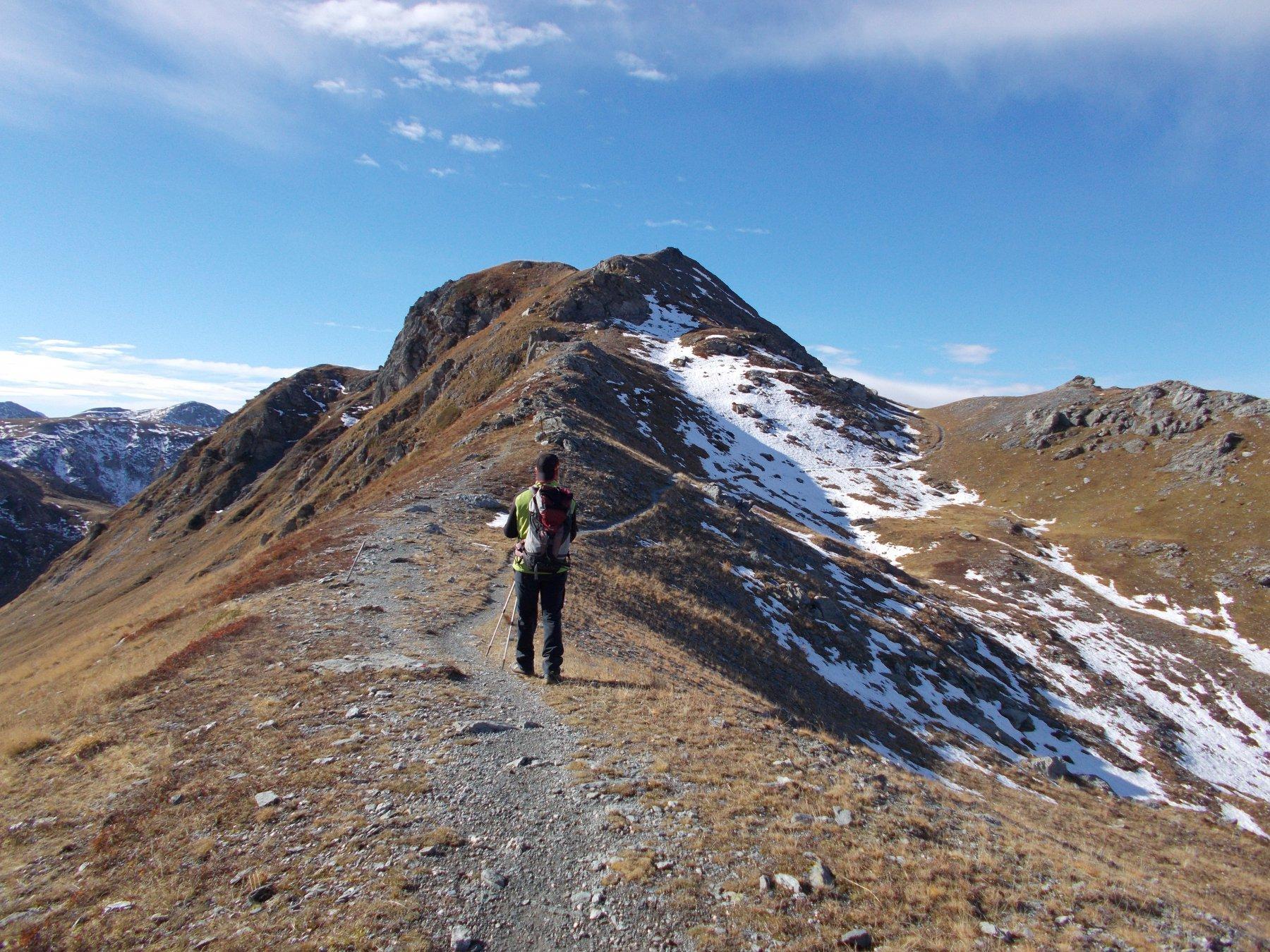 il monte Pelvo succede al Sibolet..