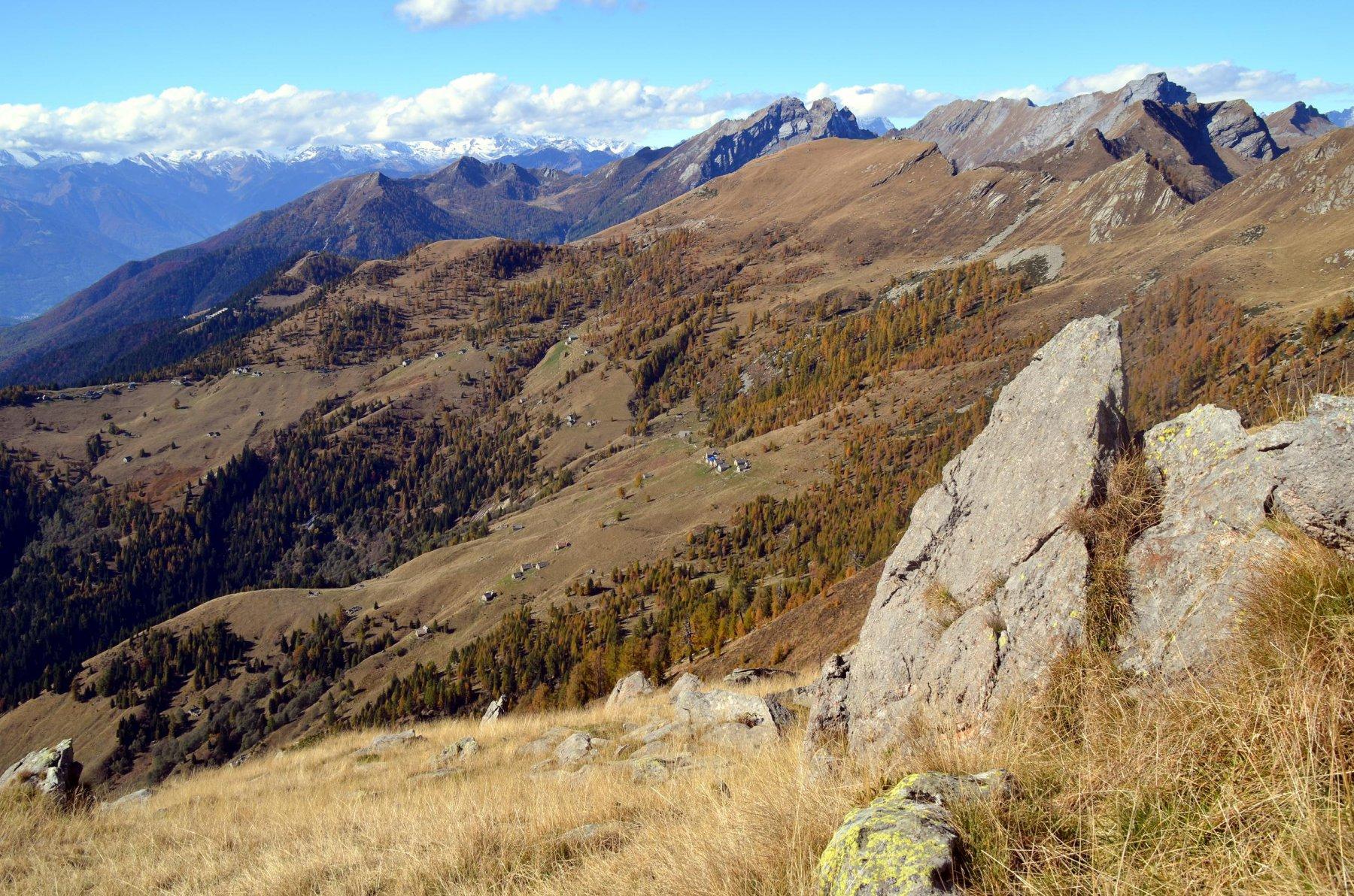Sassone (Cima del) e Pizzo Formalone da Alpe Blizz 2015-10-14