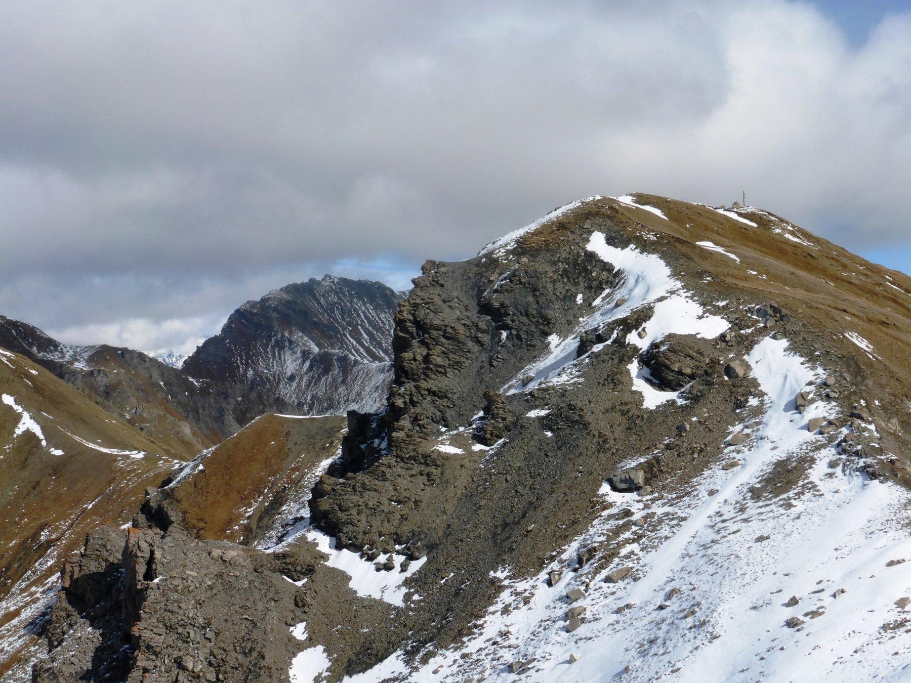 cresta verso la punta Leysser