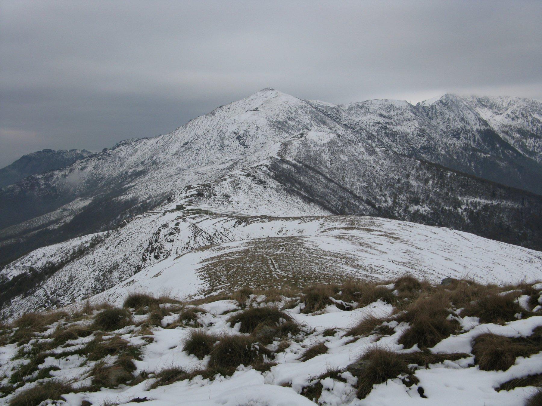 panorama verso il Monte Soglio