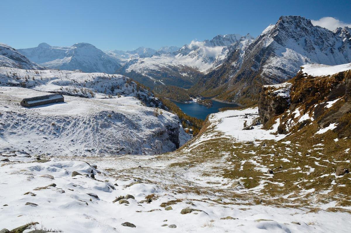 Autunno ed inverno all'alpe La Satta