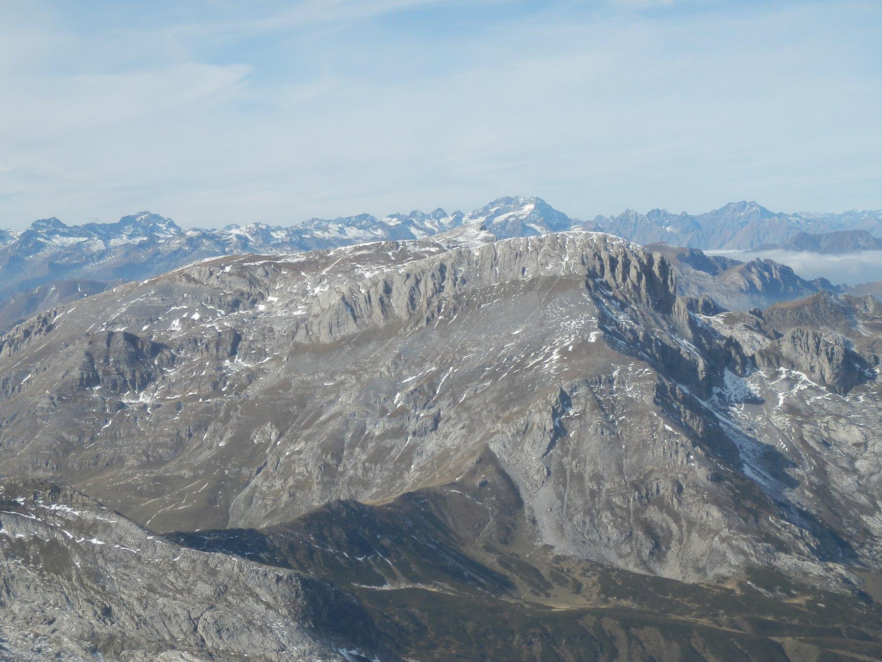 Cima delle Saline e Pian Ballaur dalla cima