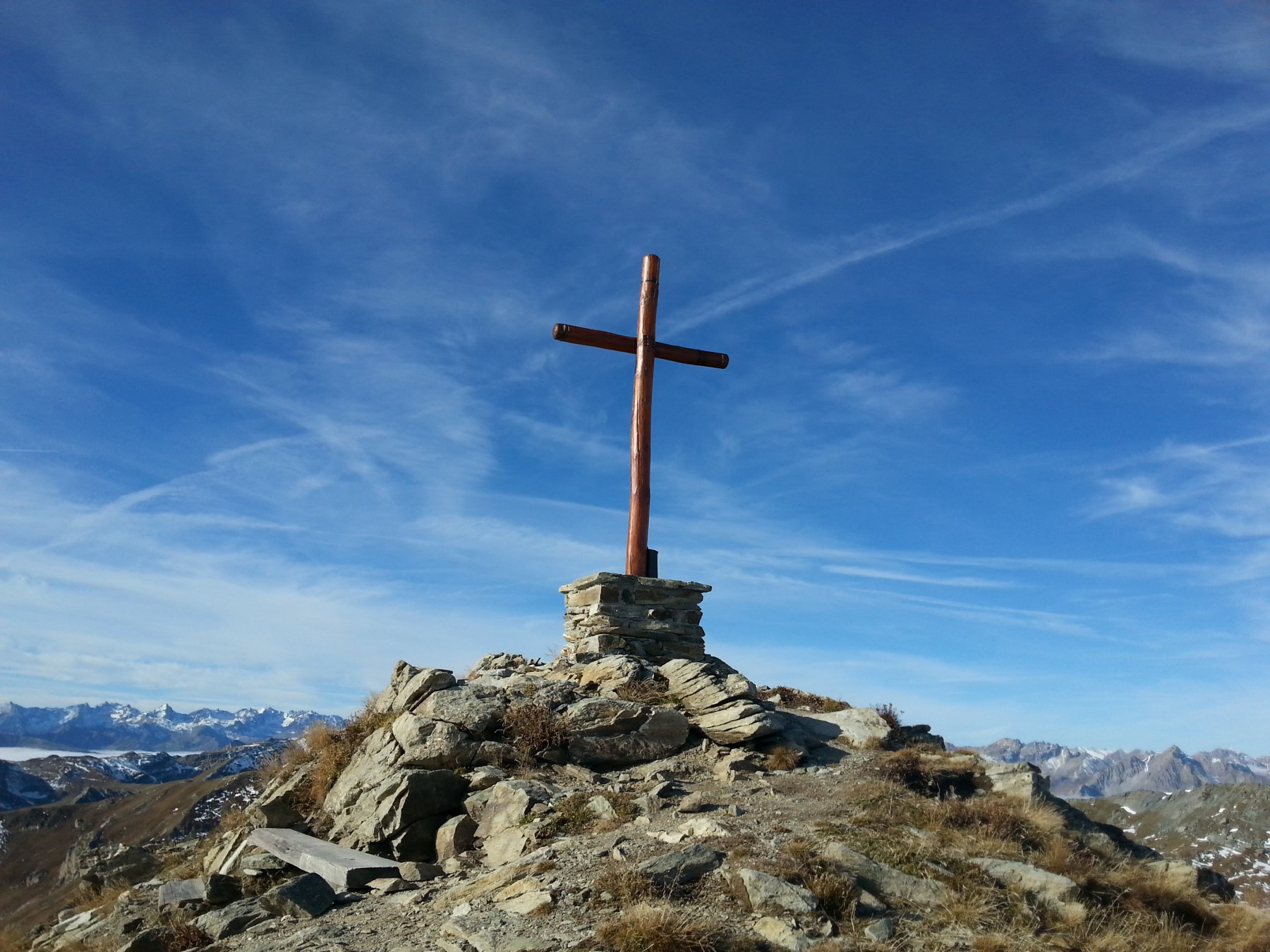 Tibert, Sibolet, Pelvo, Fauniera, Parvo (Cime) dal Santuario di San Magno, anello 2015-10-20