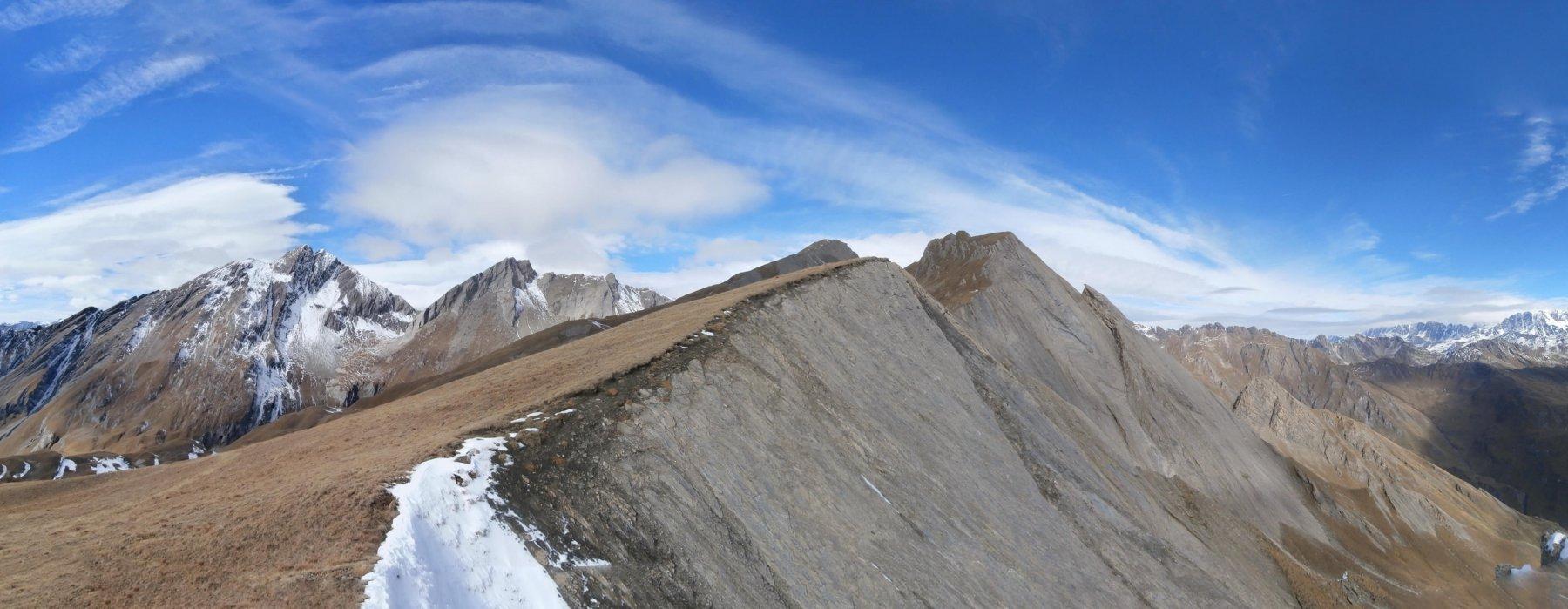 Serena (Cresta), punta 2785 m da Planaval per la punta 2710 m 2015-10-22
