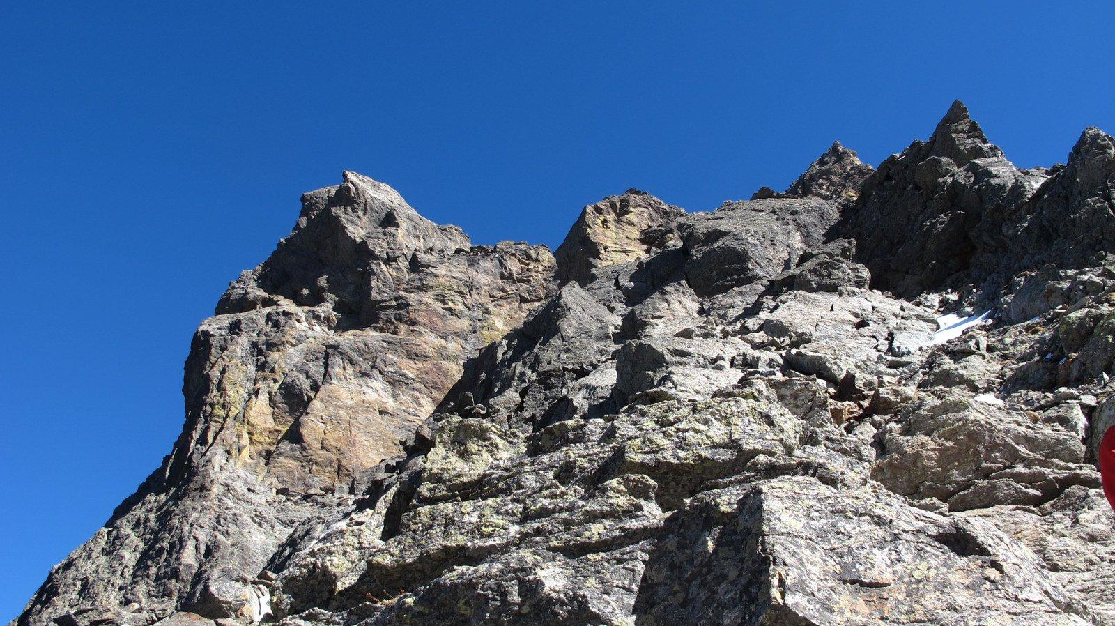 Inizio parte di arrampicata