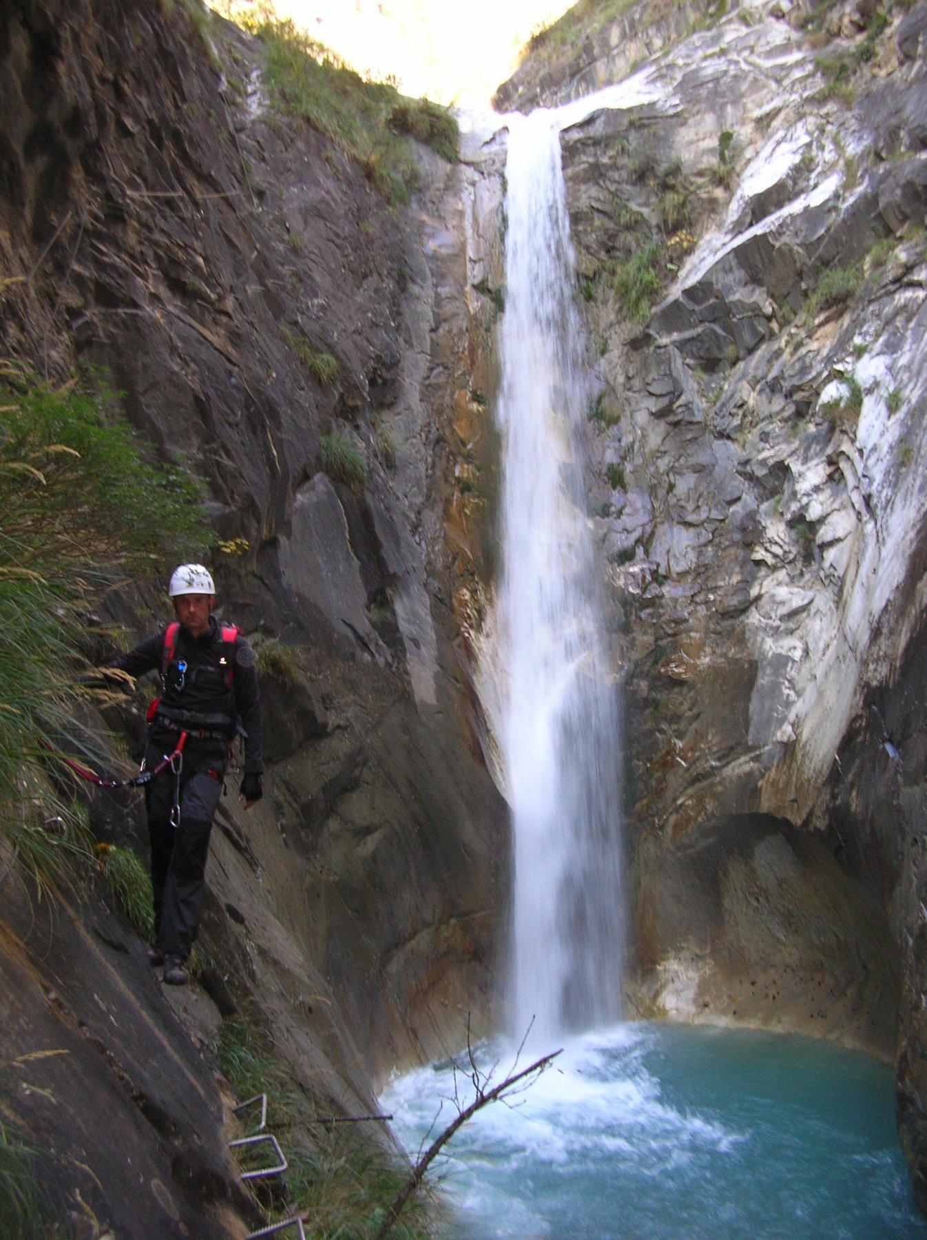 Fabrizio e cascata