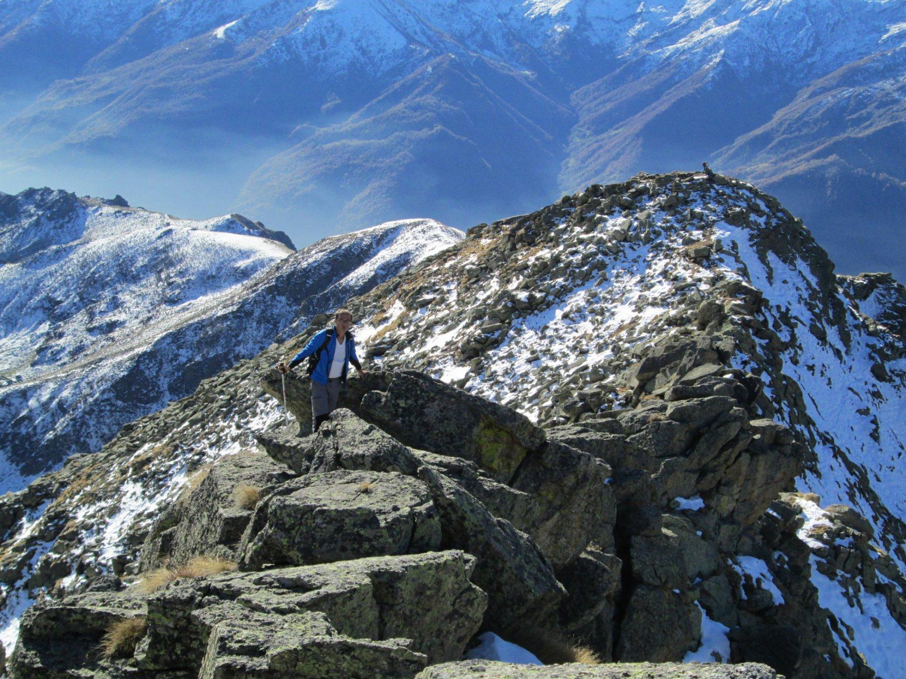 Testona (Cresta) quota 2626 m da Ciantel 2015-10-23