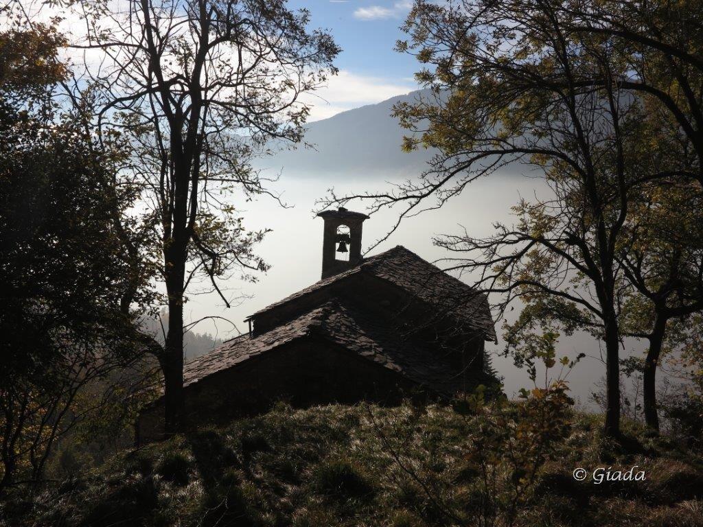 La chiesetta di Albra