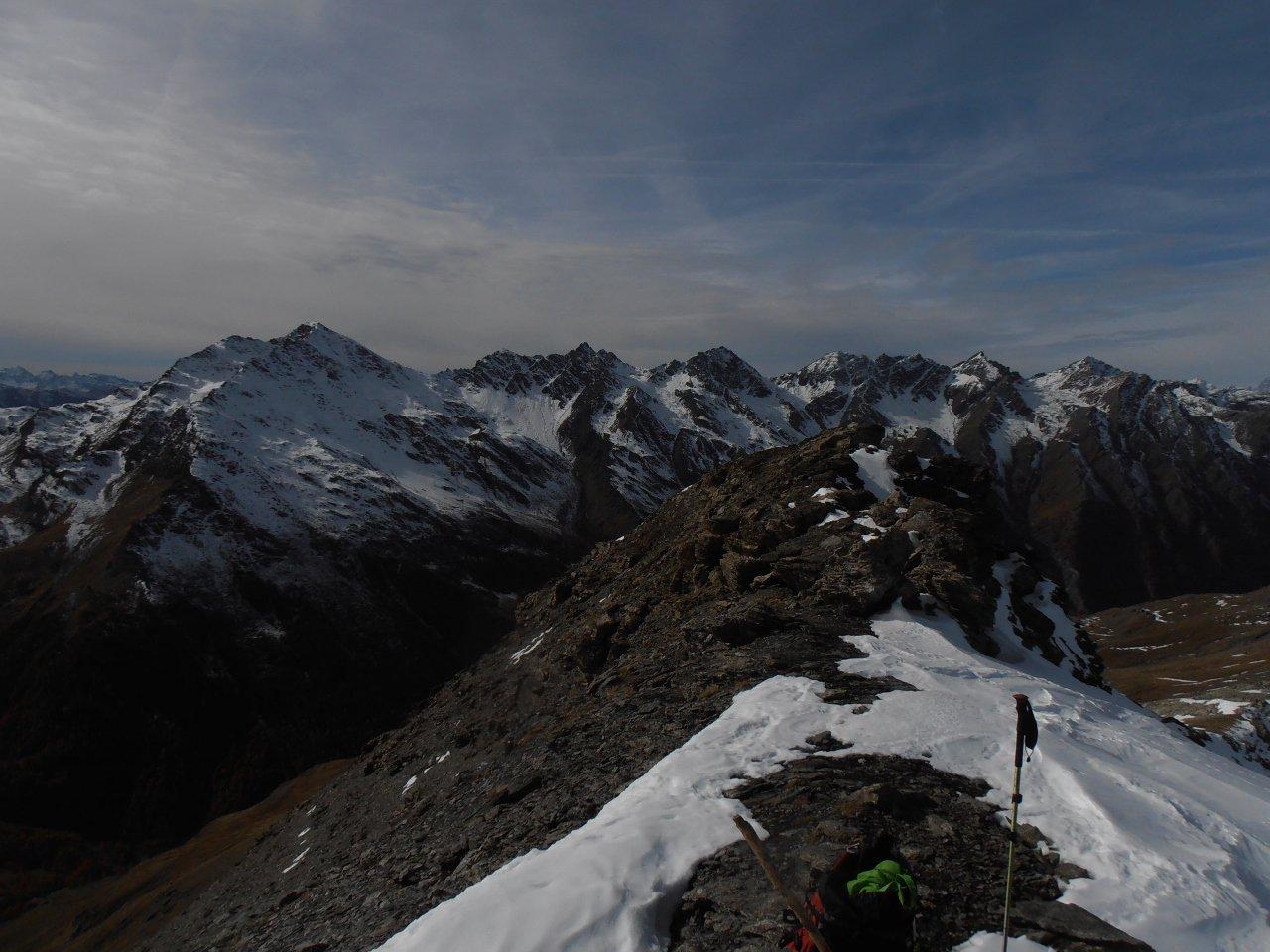 02 - la cresta tra la cima est e quella ovest
