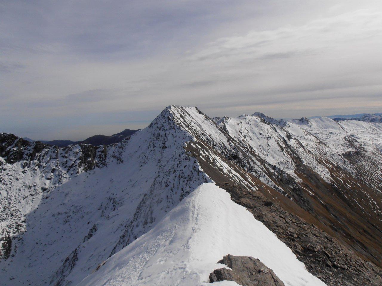 03 - verso il Barifreddo dal Monte Appenna