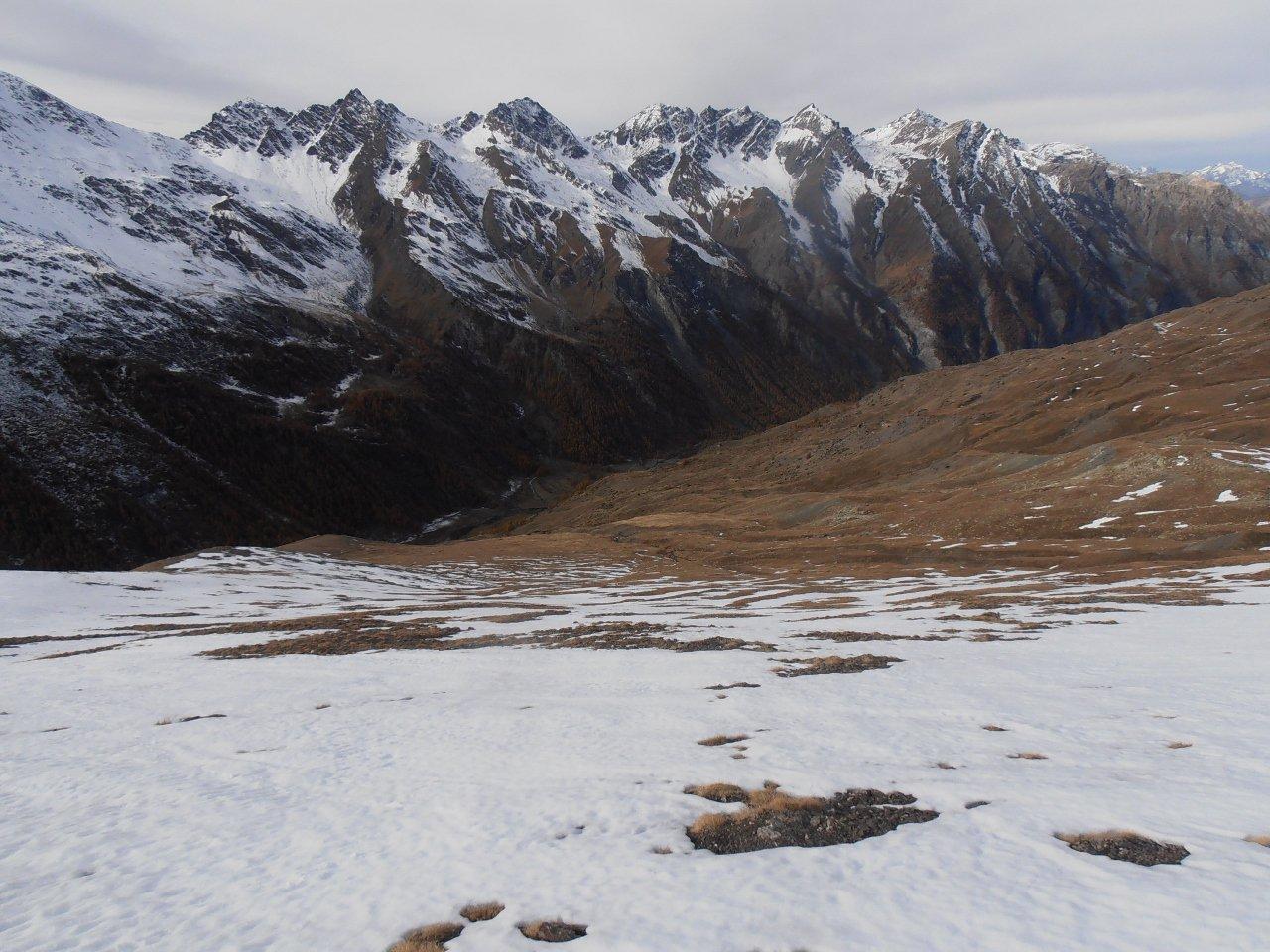 07 - neve continua dai 2700 circa, lingue di neve fino ai 2600