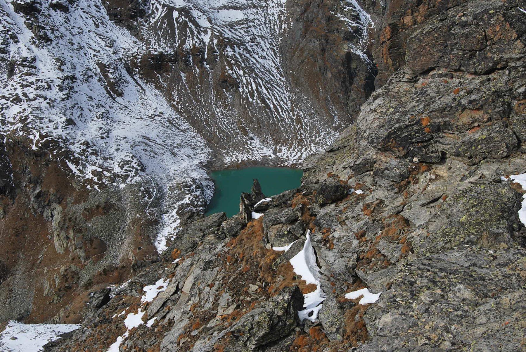 Arp Vieille (Mont) da Bonne, anello 2015-10-25