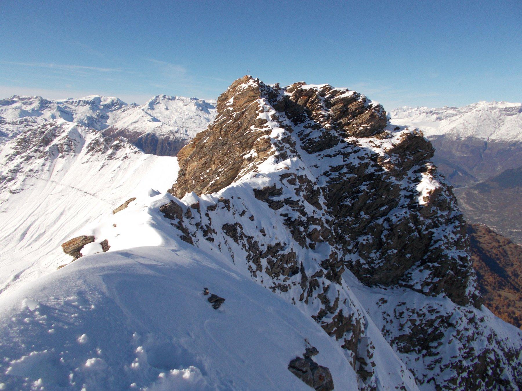Français Pelouxe (Monte) e Monte Pelvo dal Colle delle Finestre, anello 2015-10-29