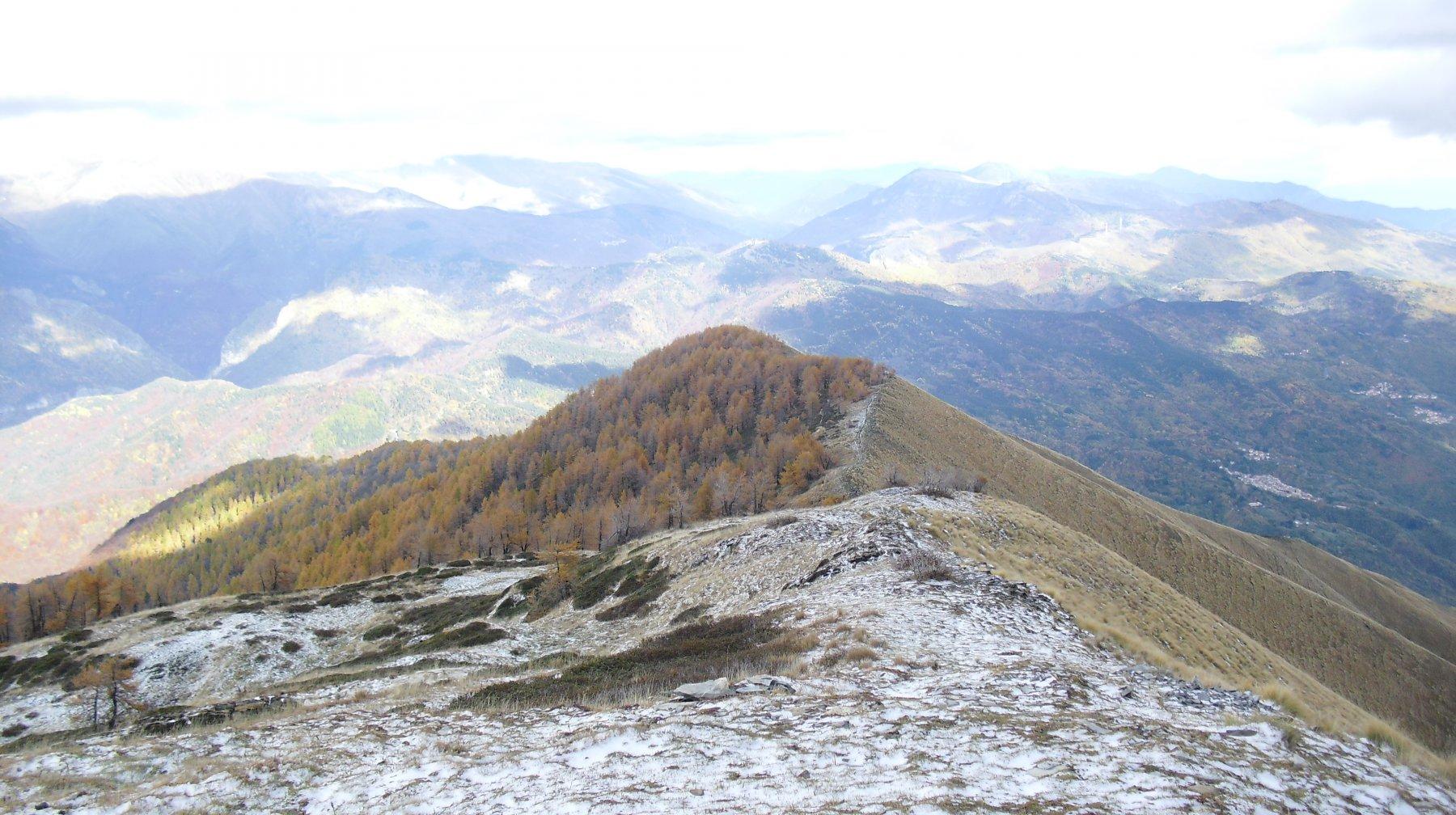 Frontè (Monte) e Cima Garlenda da Mendatica, anello per le Cascate dell'Arroscia 2015-10-29