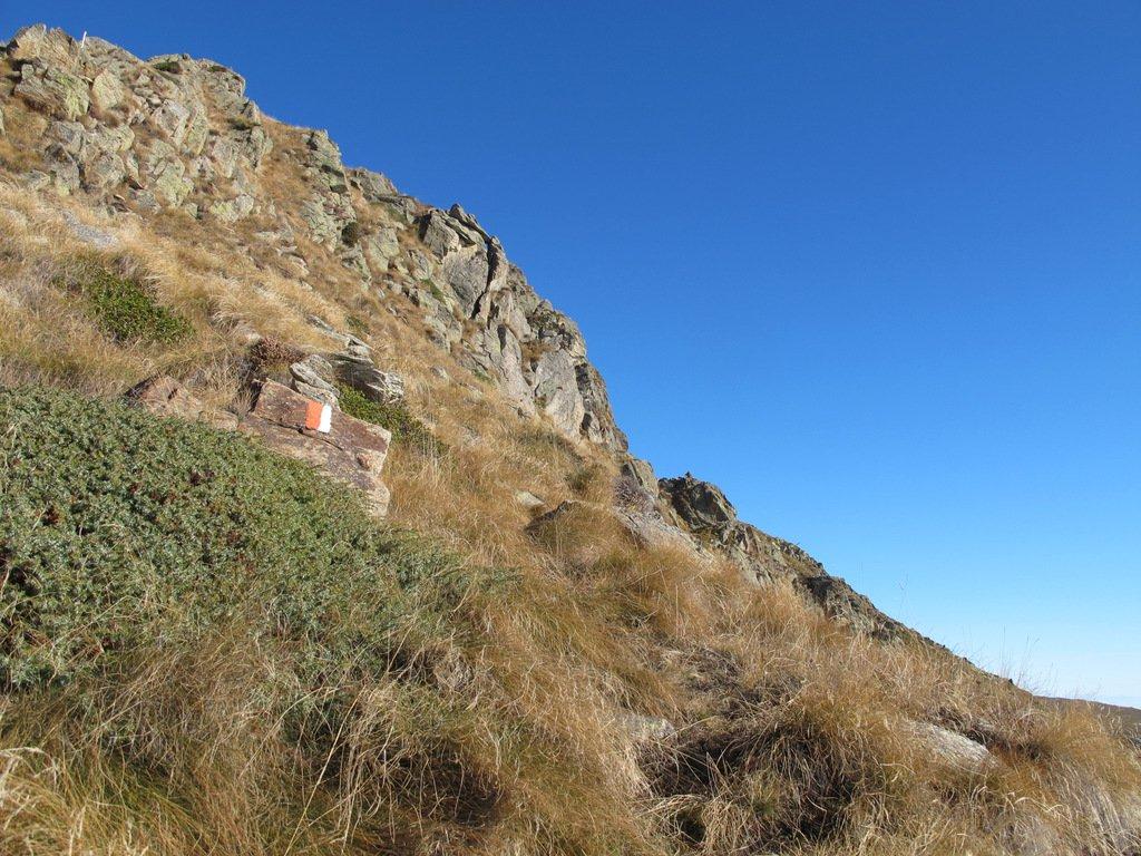 Sulla cresta Sud per la Torretta