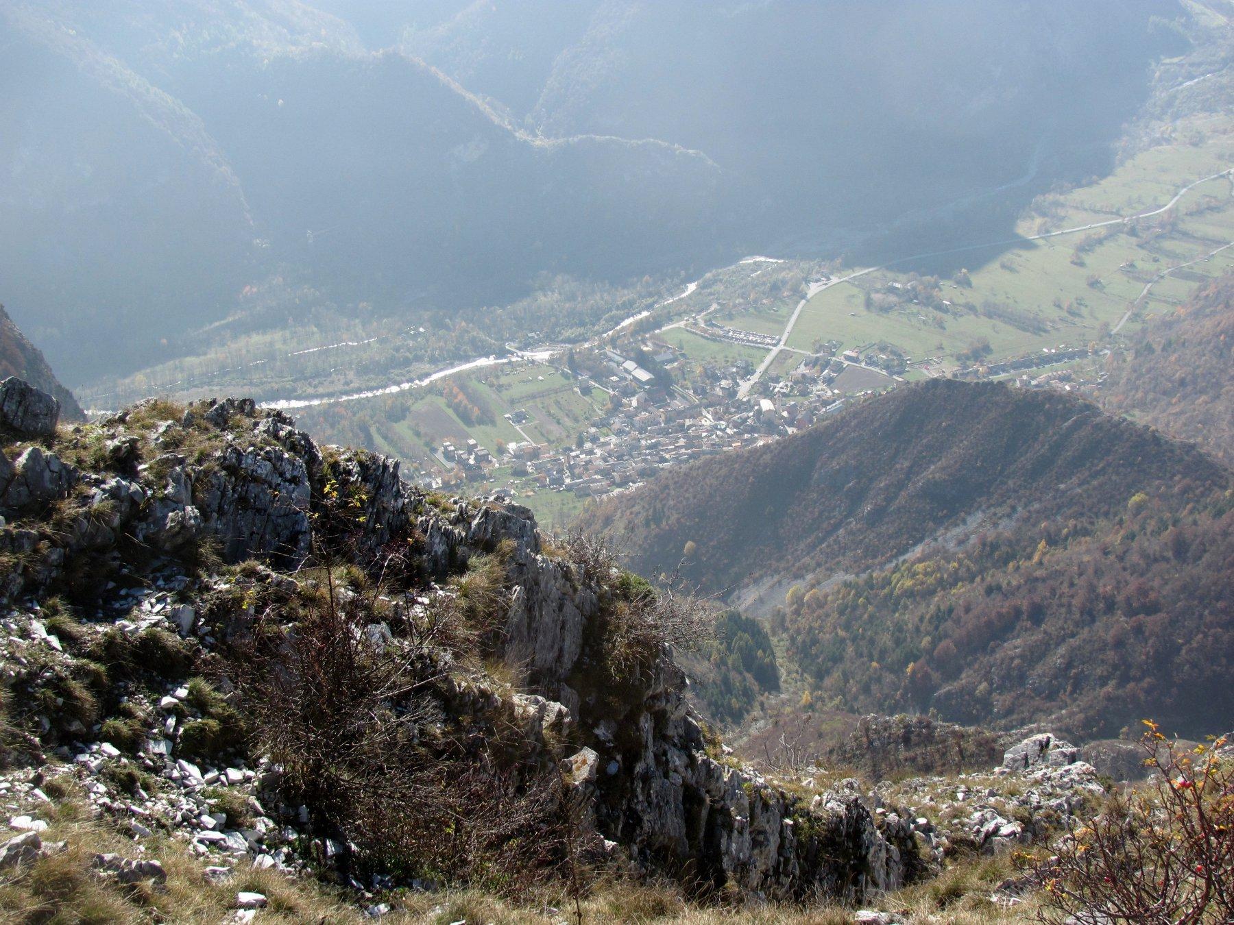 Il ripido versante ovest, verso Valdieri