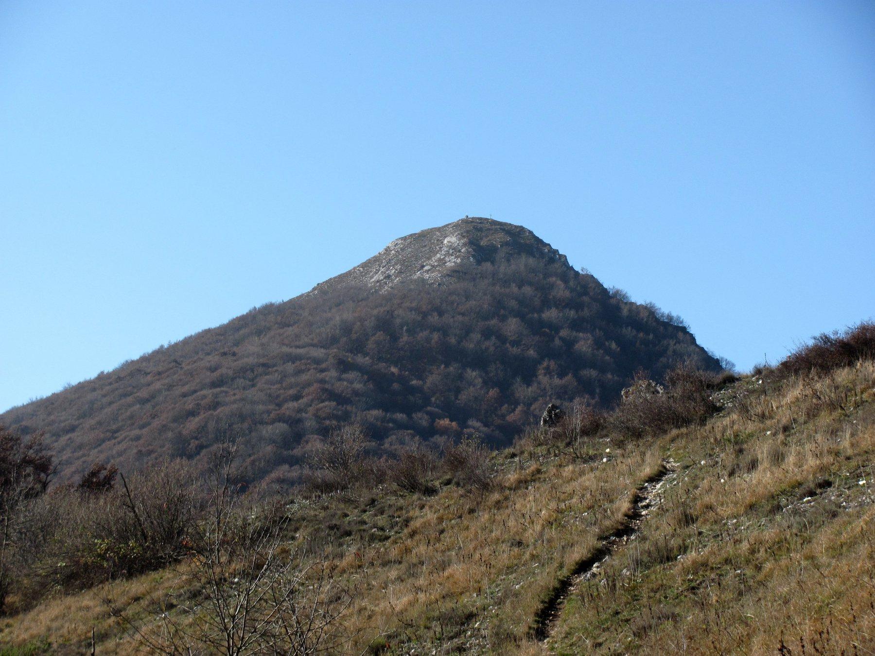 la Cima Saben, vista da Est, dalla Colla delle Piastre