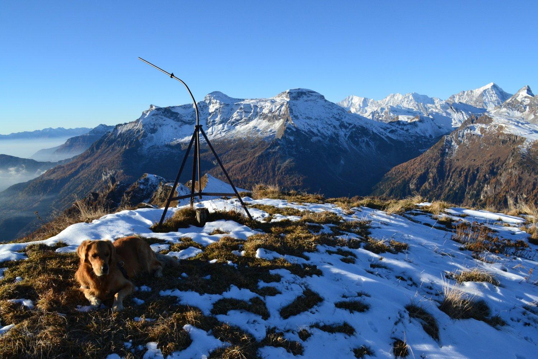 in vetta al Monte del Sangiatto