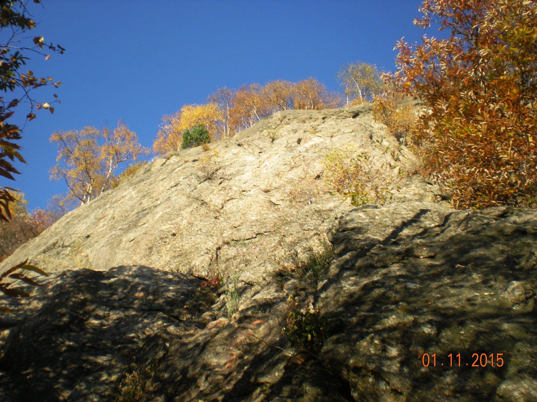 Spigolo Biletta e i colori dell'autunno