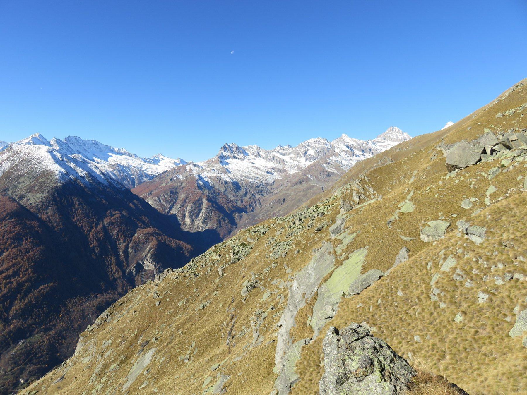 Panorama verso le Levanne ed il Courmaon