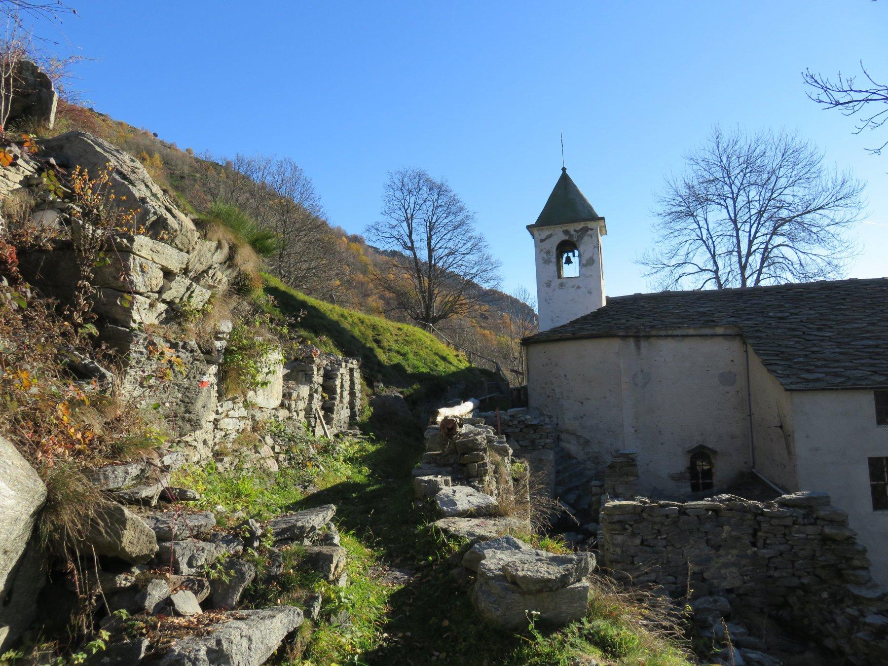 Arrivo a Sant'Anna dei Meinardi