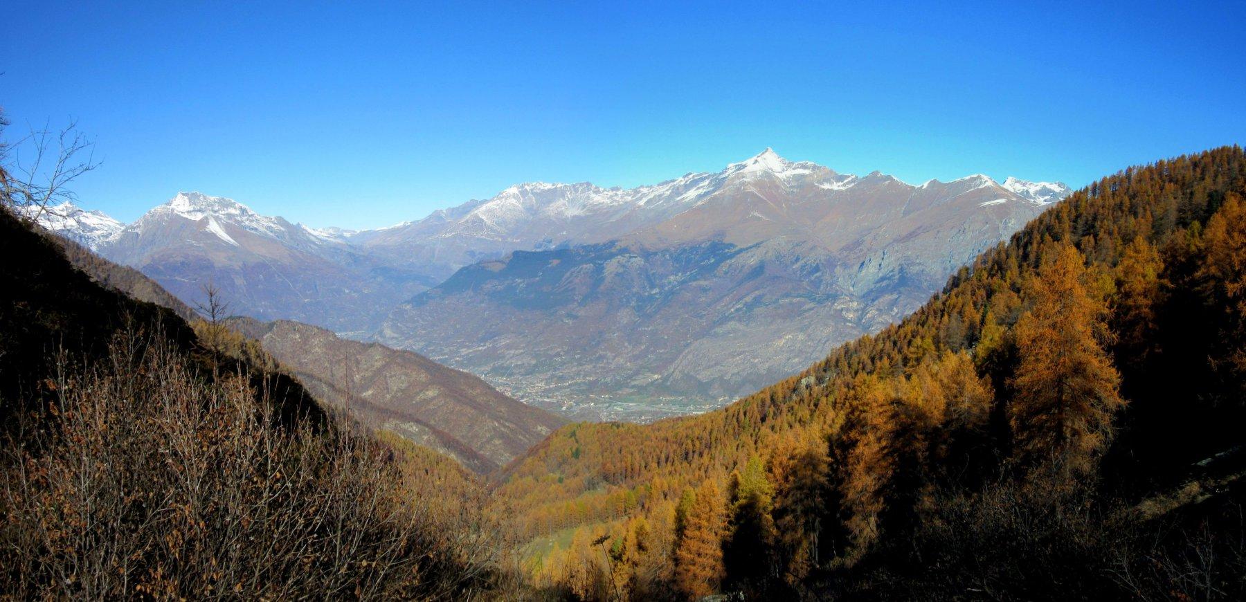 panorama sulla valle di Susa