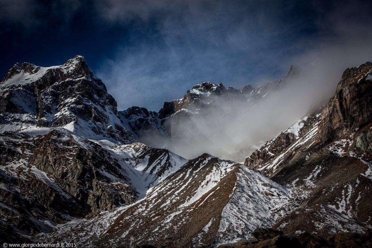 Crampiolo (Passo) e Passo della Rossa da Alpe Devero, anello 2015-11-04