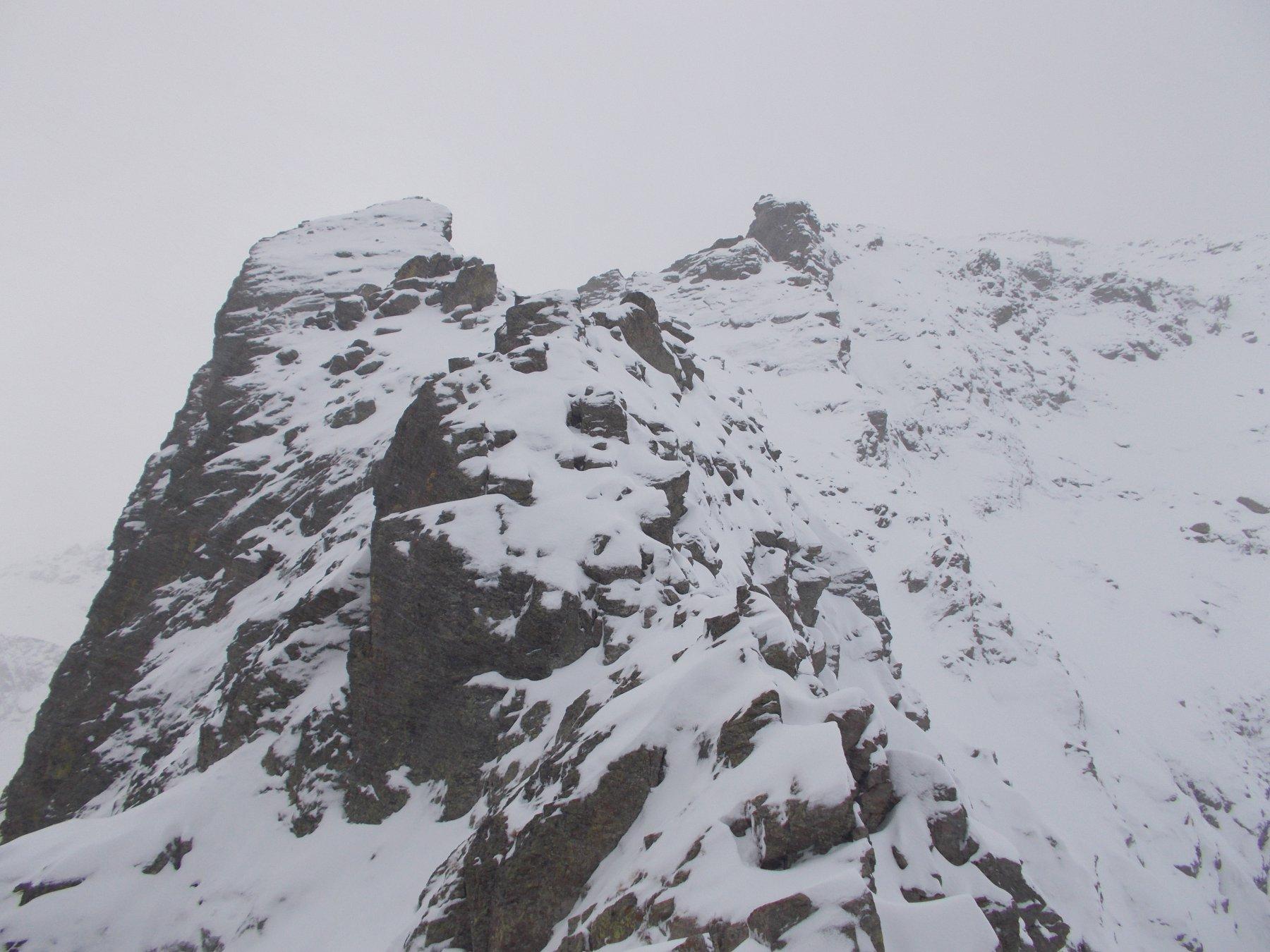 il Becco Alto d'Ischiator dal Passo Laris..