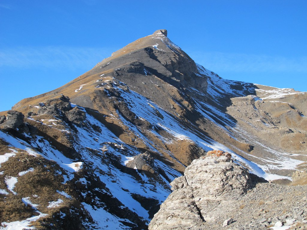 Il Mont Ouille dal Laityre