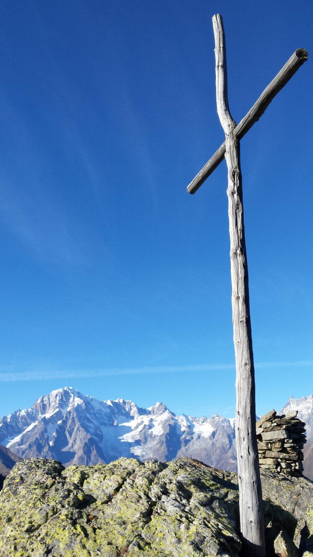 gran bel panorama dalla croce Folliet