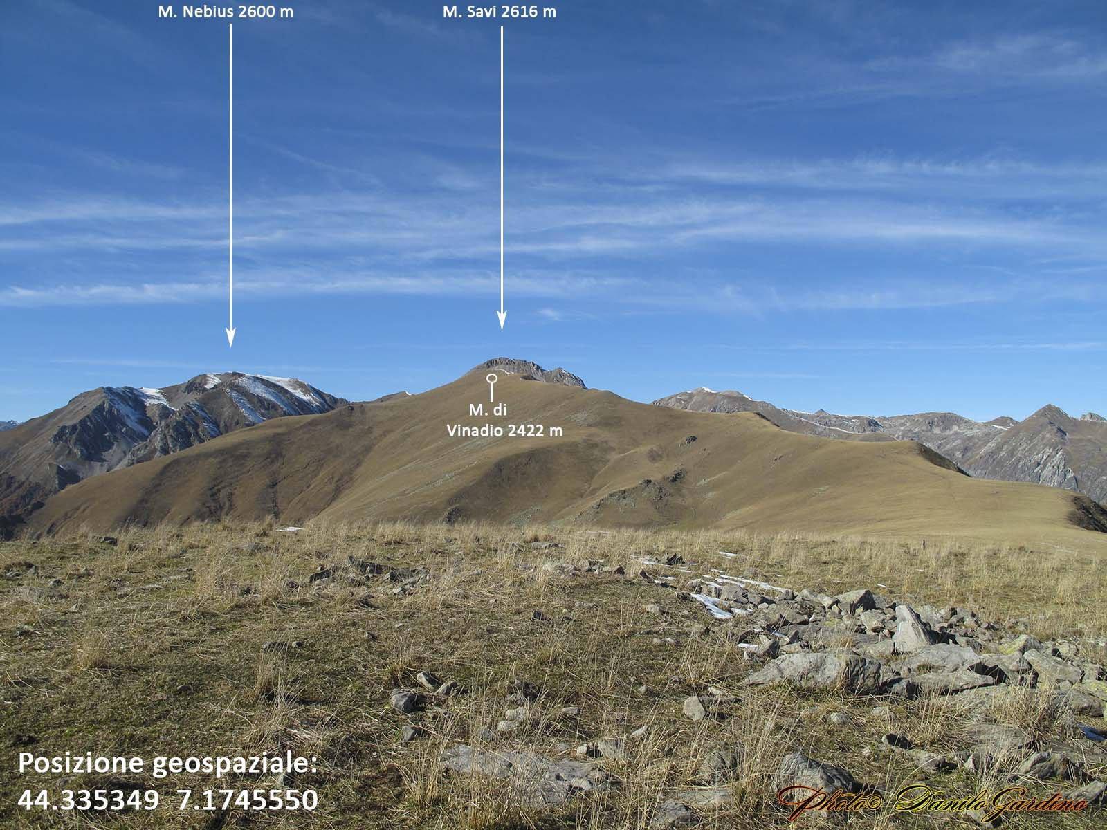 In cima al Monte Corso del Cavallo (ovest)