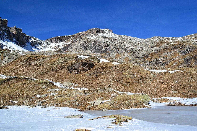 Laghi Creil e Monte Giove