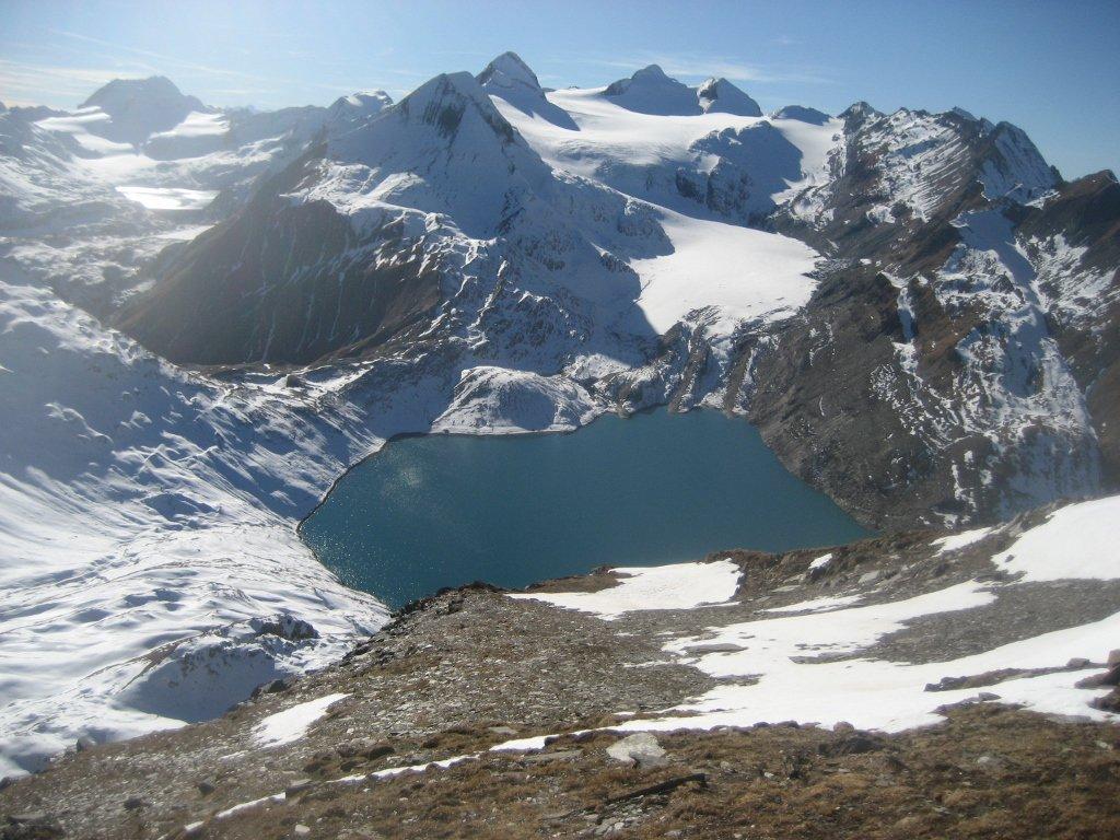 lago del Griess (e dintorni) dall'alto....