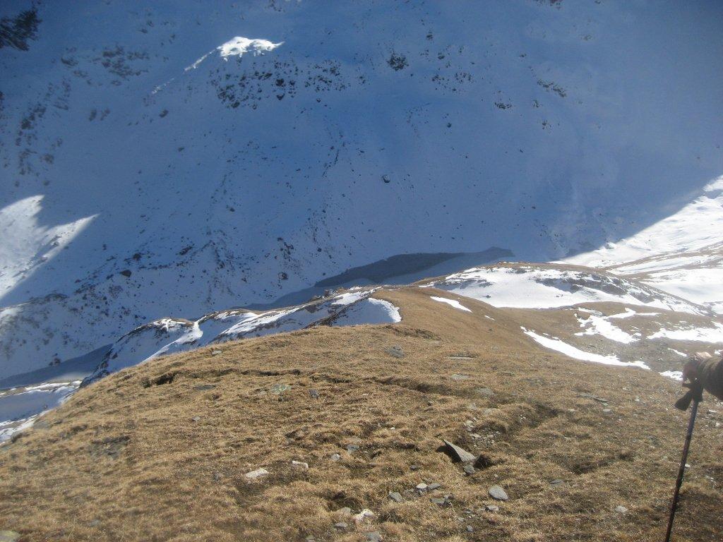 ripidi pendii soprastanti il Cornopass