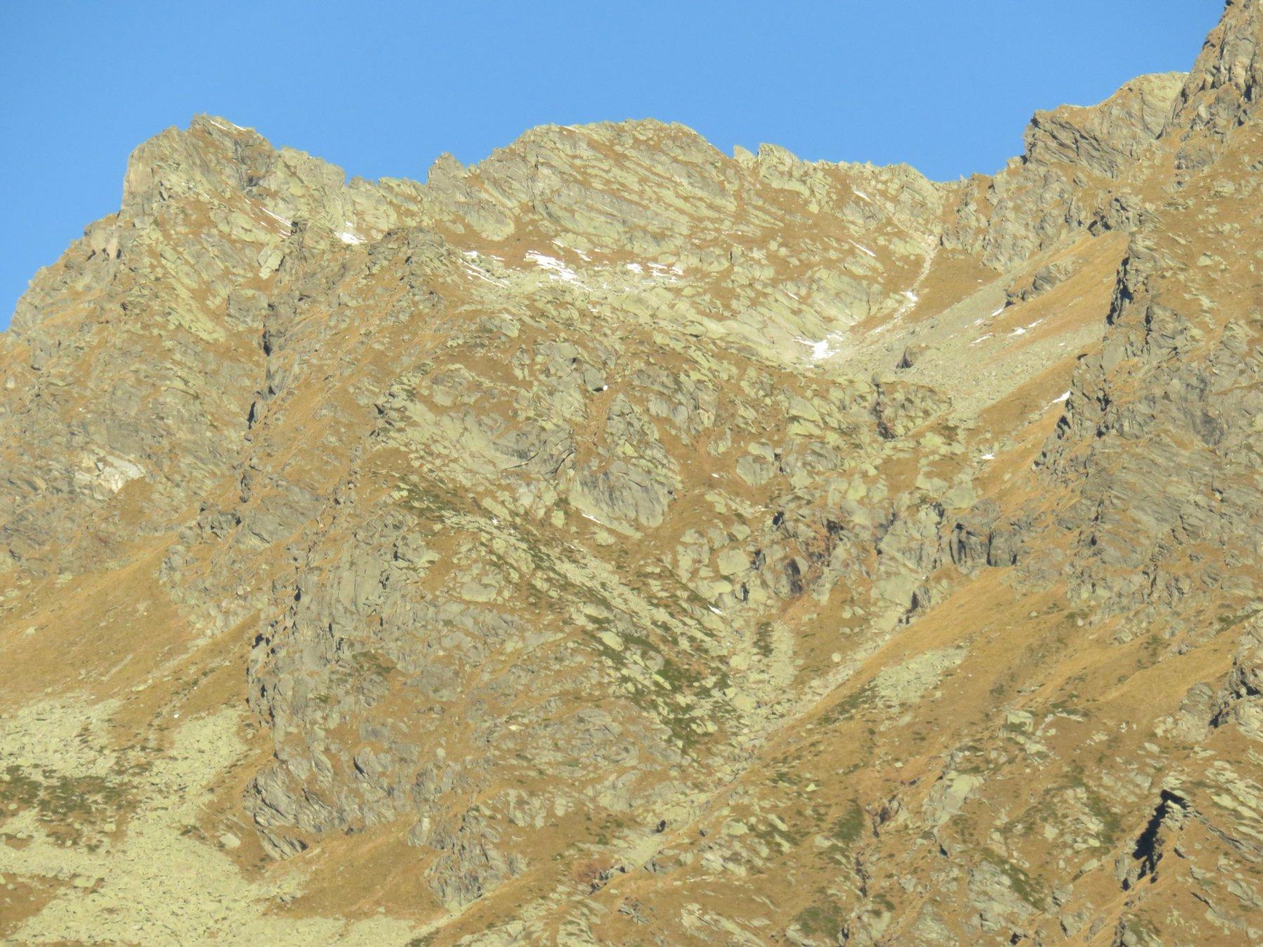 In alto, la conca ove è posto il Laghetto degli Orti