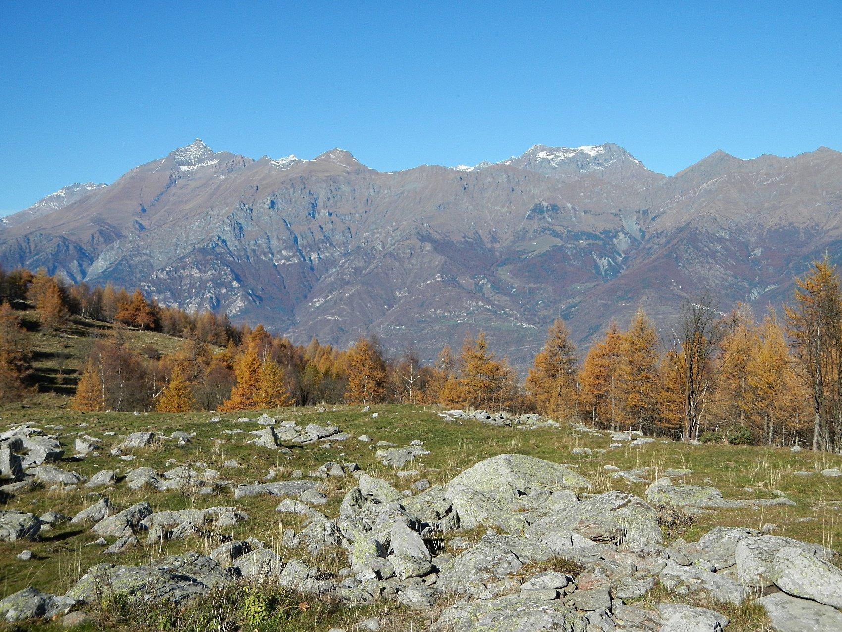panorama dall'Alpe Fumavecchia