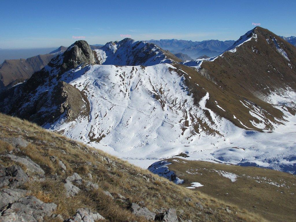 Panoramica dal colletto sotto C.Fauniera