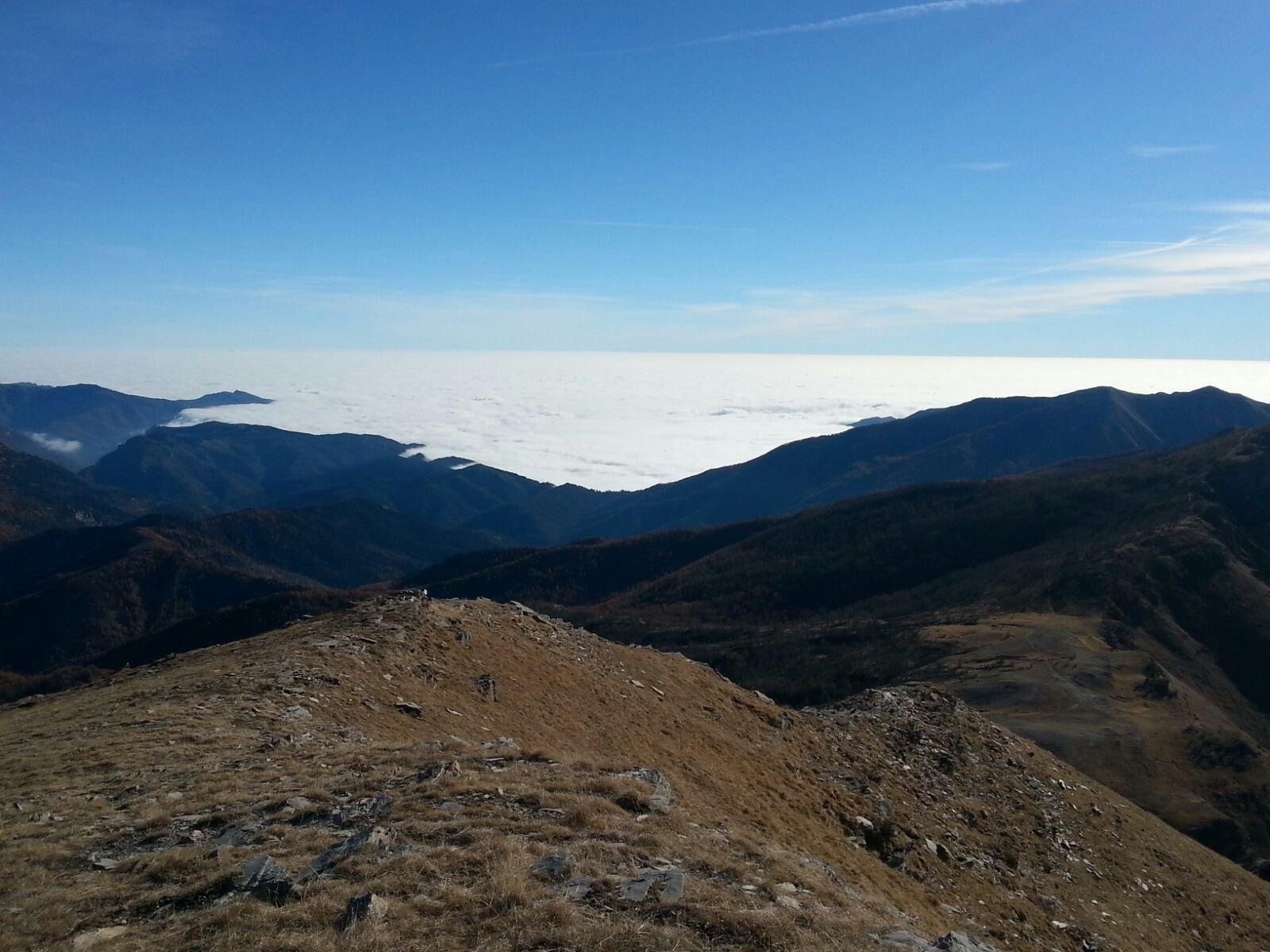 Panorama sul mare ... di nubi 1