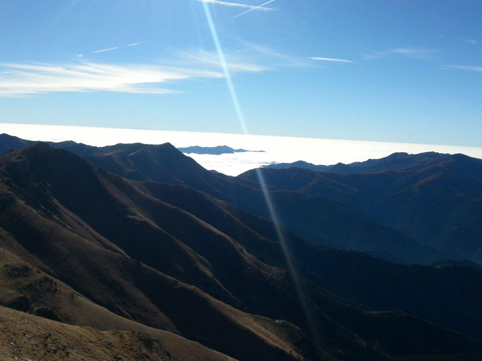 Panorama sul mare ... di nubi 2