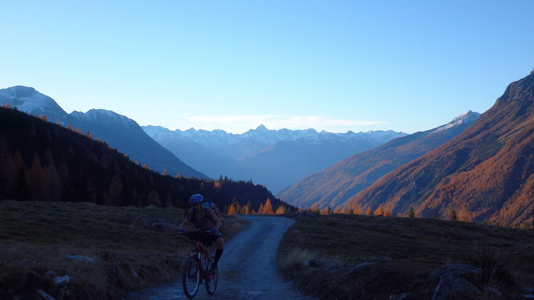 verso le Alpi Orobie