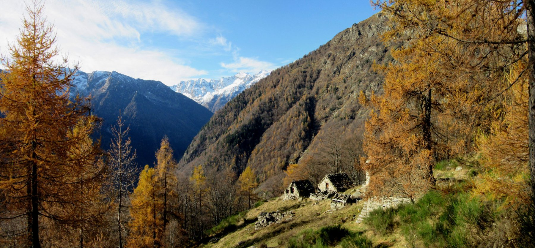 Panorama dall'Alpe Motto m. 1548