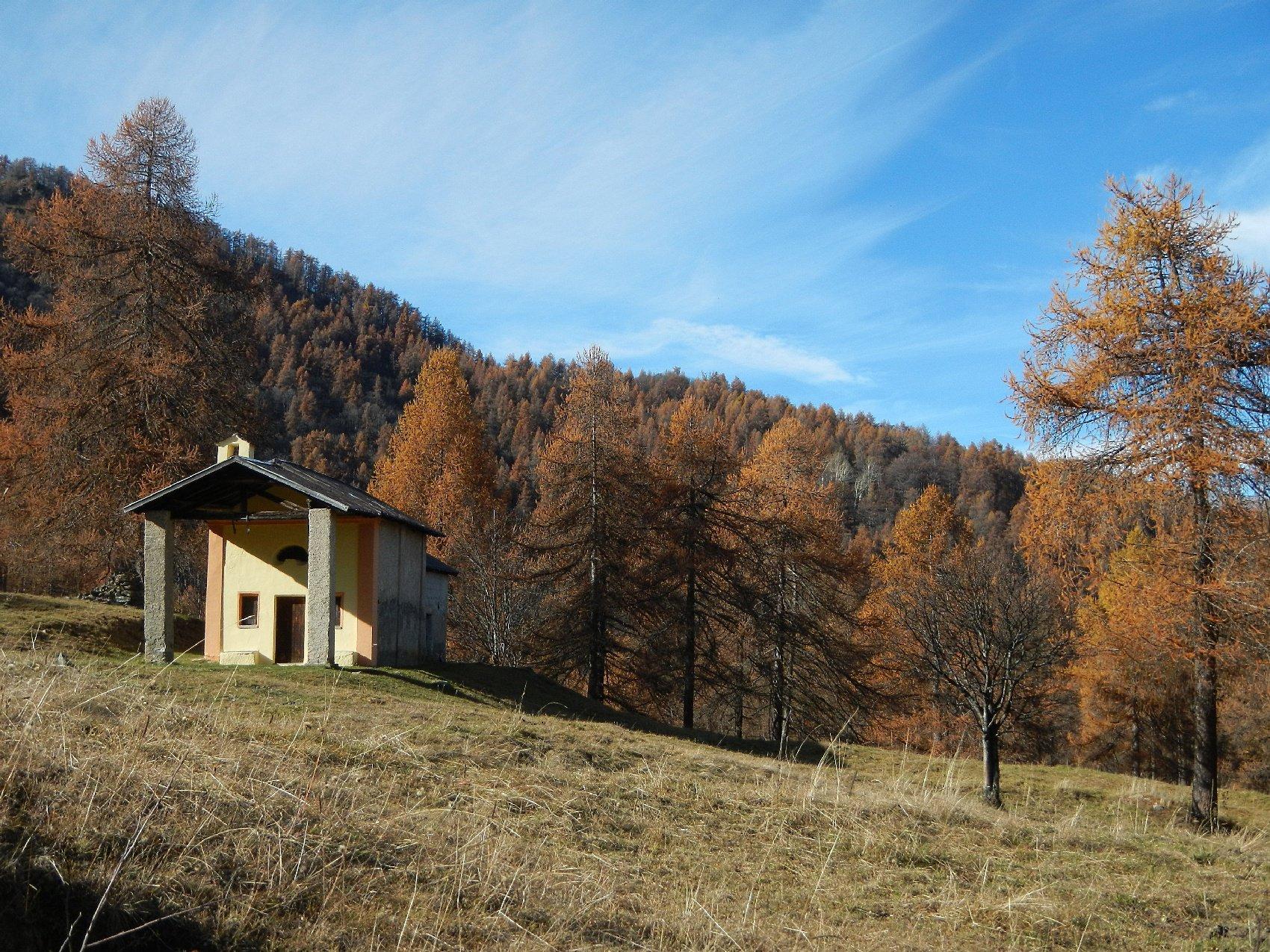 la Cappella delle Toglie 1437 m.