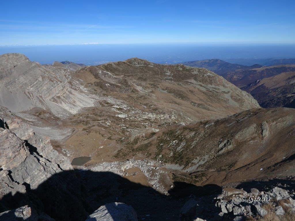 Vista verso la Punta del Zucco