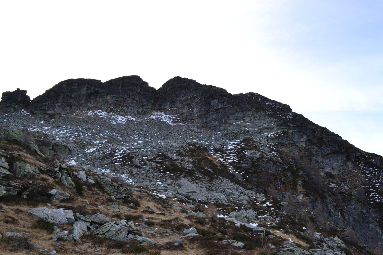Poncione d'Alnasca visto dall'omonima alpe