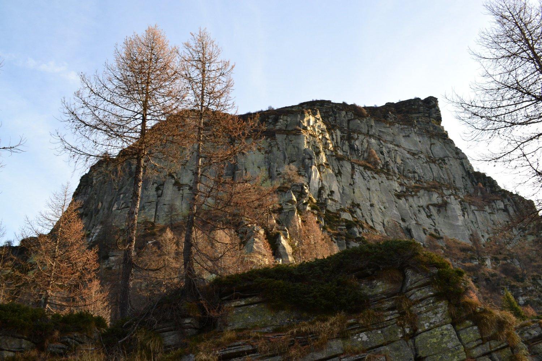 parete ovest del poncione