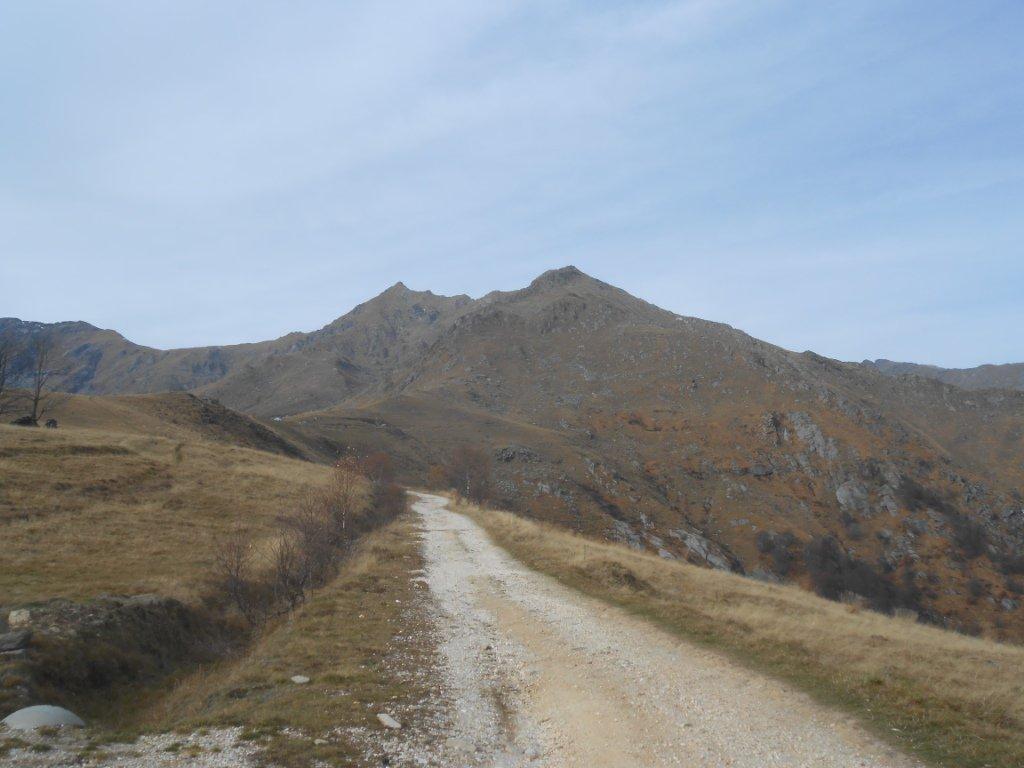partenza da Pian delle Nere, m. 1339